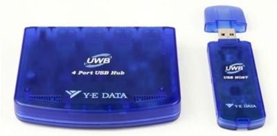 Hub USB de 4 puertos, inalámbrico