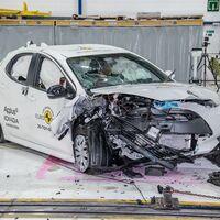 Toyota Yaris obtiene 5 estrellas en las nuevas pruebas de Euro NCAP