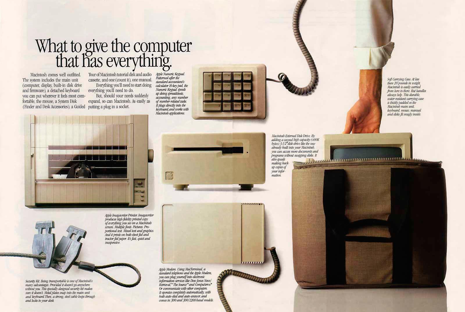Foto de Presentación del Macintosh en Newsweek (10/11)