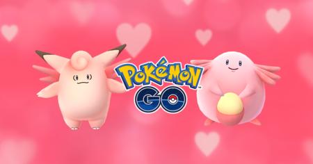 El color rosa invade a Pokémon GO gracias a su nuevo evento con motivo de San Valentín