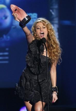Famosos en los MTV Latinos 2009
