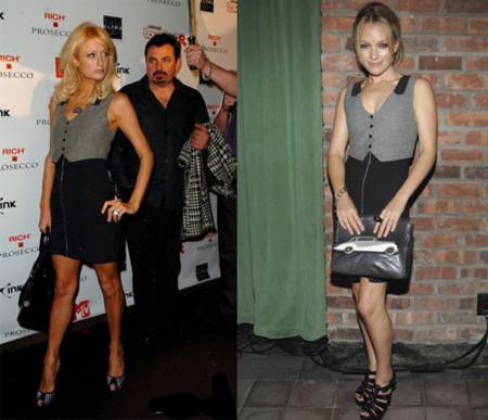Paris Hilton contra Becki Newton, ¿quién lleva mejor a Alexander Wang?