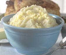 Puré de patatas al queso
