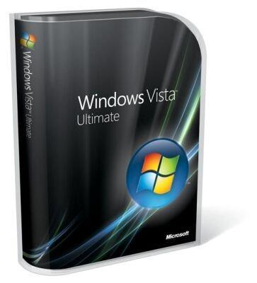 Las cajas del nuevo Windows Vista
