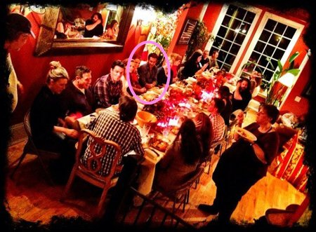 Ryan Reynolds y Blake Lively además de amor comparten el pavo y los mazapanes