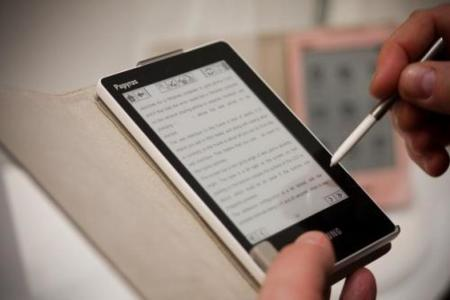 Samsung Papyrus, lector de libros electrónicos con pantalla táctil