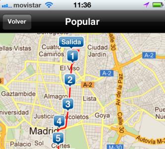 Aplicación de la San Silvestre para iPhone y Android