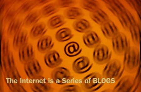 Internet is a series of blogs (LV)