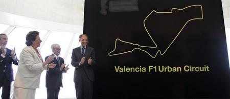 El trazado del nuevo circuito urbano de Valencia