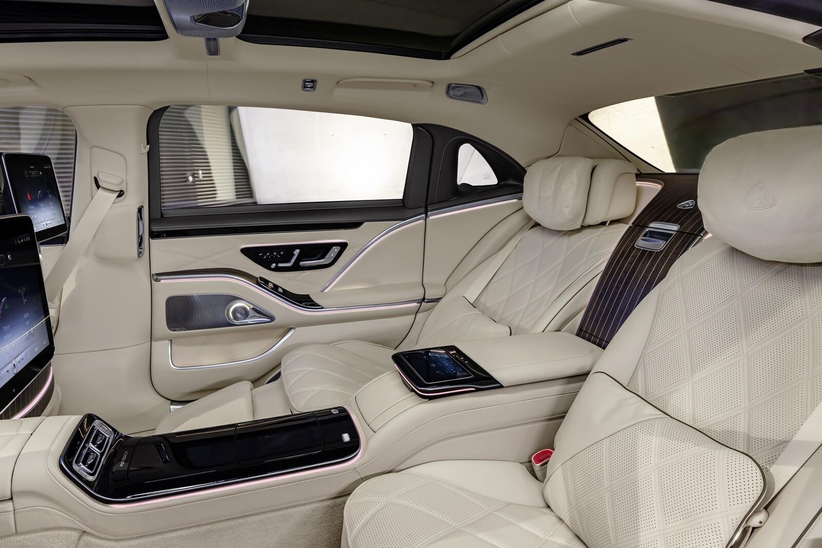 Foto de Mercedes-Maybach Clase S 2021 (13/43)