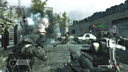 El modo multijugador de 'Call of Duty 4' en imágenes
