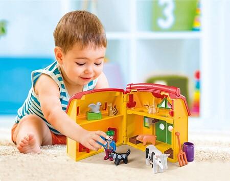 Hasta 30% de descuento en sets de Playmobil 1.2.3, Country o Dragones a la venta en Amazon