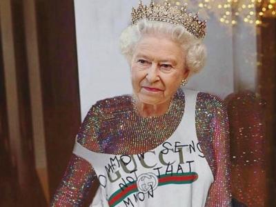 Rihanna viste a la Reina Isabel II con las prendas más cool del momento con motivo de su 91 cumpleaños