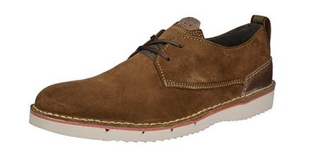 Desde 30,80 euros tenemos estos zapatos Clarks Capler Plain para hombre en Amazon