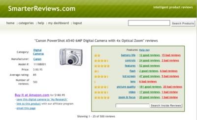 Smarter Reviews, comunidad de revisiones de productos de electrónica de consumo