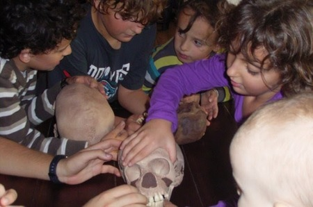 Talleres de Prehistoria para niños en Alicante