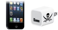 Agujero de seguridad a través del conector de carga de los dispositivos iOS