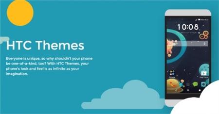 HTC lanza Themes, una aplicación para personalizar sus equipos