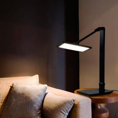 Lámpara LED de escritorio con USB por 12,79 euros y envío gratis