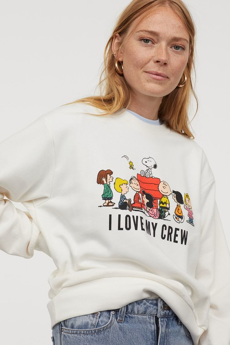 Snoopy Sudadera Firmas Low Cost 02