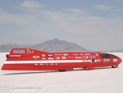 Record mundial de velocidad en moto