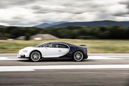Bugatti Chiron prueba