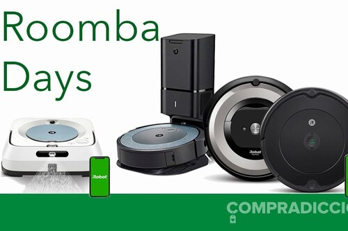 Ofertas en robots de limpieza iRobot: Roomba y Braava a los mejores precios en Amazon