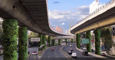V a verde cuestionable proyecto que busca reducir la for Muros verdes en mexico