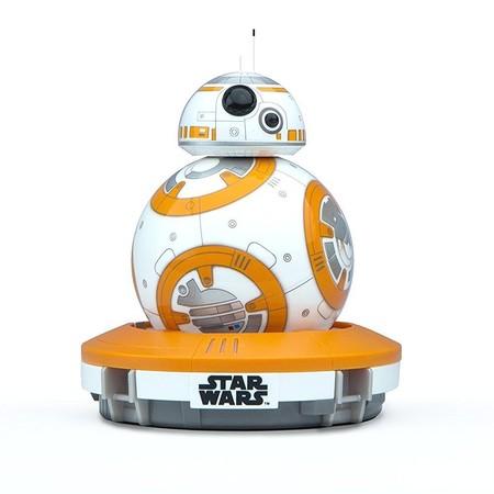 El robot electrónico droide BB-8 Star Wars Sphero R001ROW está rebajado a 84,06 euros en Amazon