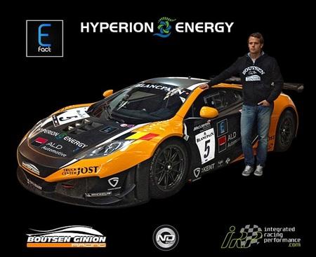 Andy Soucek participará en la cita de la Blancpain Endurance Series en Navarra