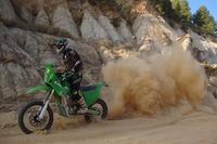 Motorland X-Race 2012 con una moto eléctrica