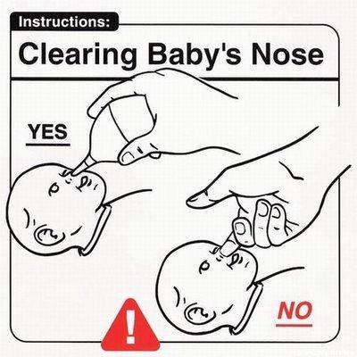 Limpiar la nariz