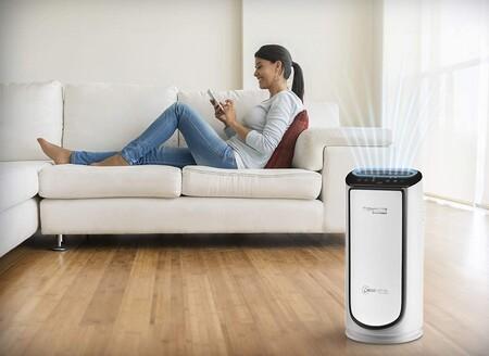 Este purificador de aire de Rowenta es el más vendido de Amazon: con conectividad, silencioso y cuatro filtros por 329 euros
