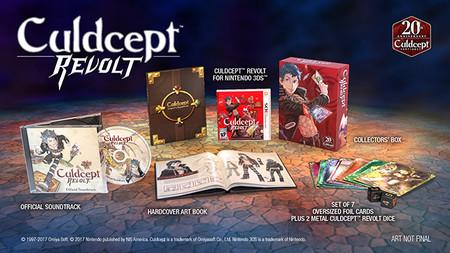 Culdcept Revolt para el N3DS contará con edición especial la cual ya pueden pre-ordenar