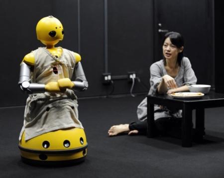 Wakamaru, el robot actor
