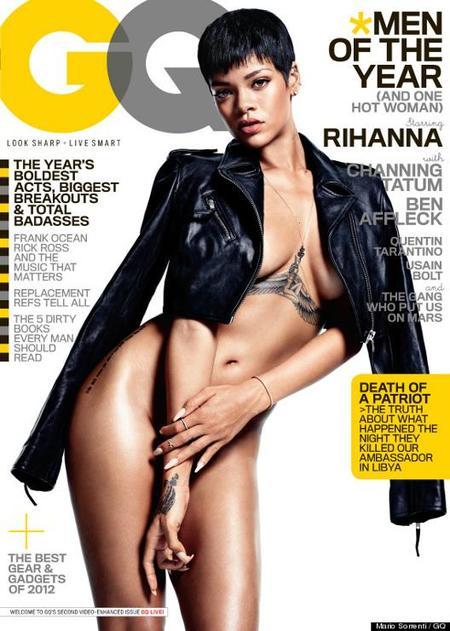 Rihanna portada GQ Diciembre