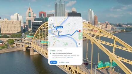 Google Maps ya no recomendará siempre el camino más rápido: la ruta por defecto será la menos contaminante
