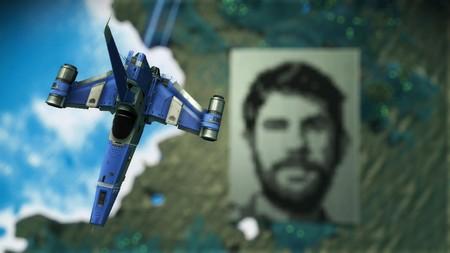 En un planeta de No Man's Sky hay un enorme retrato de Sean Murray que se ve desde el espacio