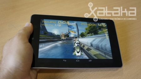 Nexus 7 análisis potencia