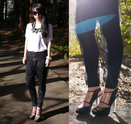 pantalon negro transparencia