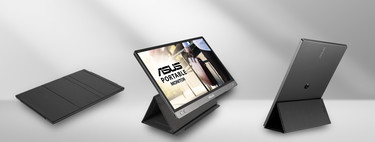 ASUS anuncia nuevo monitor portátil, es el ZenScreen MB14AC, un modelo todoterreno con panel IPS pero sin batería incorporada