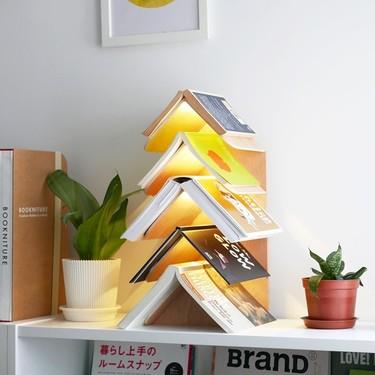 17 estanterías originales para organizar tus libros y decorar con ellos