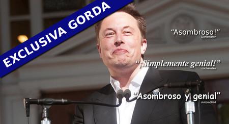 Elon Musk, nuevo y maravilloso director de Motorpasión (pero nada cambiará a partir de ahora)