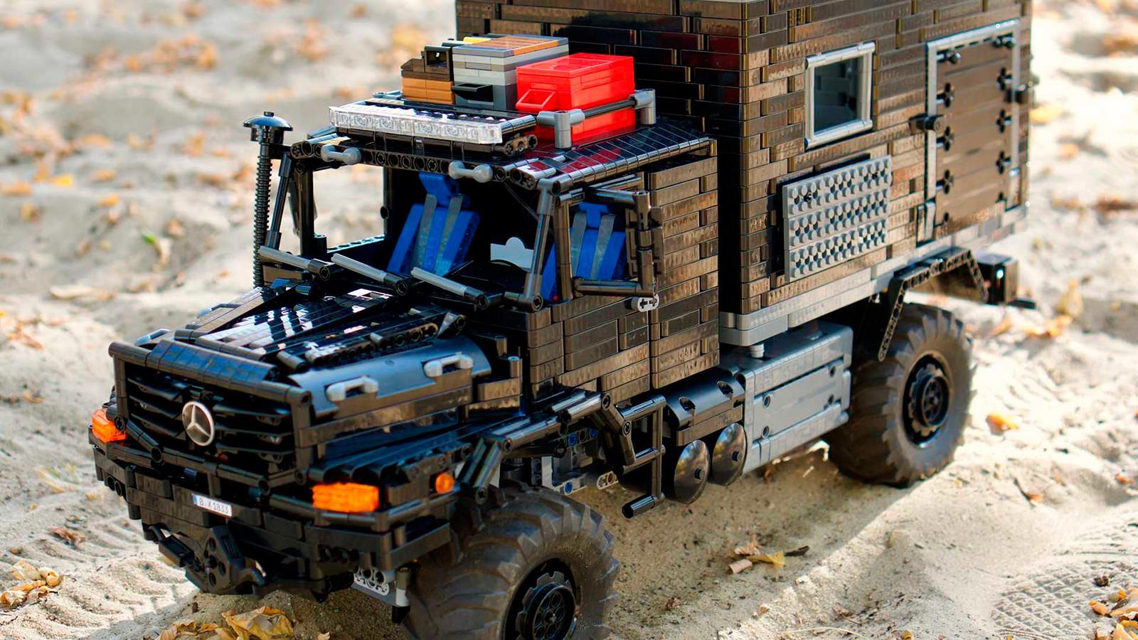 Foto de Mercedes-Benz Zetros 1833 Lego Technic MOC (3/6)