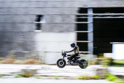 SC-Rumble: la combinación entre Ducati, Pirelli y Vibrazioni Art Design