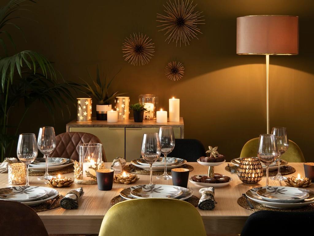 Lo que nos gusta una mesa de Navidad bonita. Y más si es con colecciones de Maisons du Monde