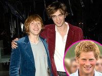 Robert Pattinson y Rupert Grint candidatos a Príncipe