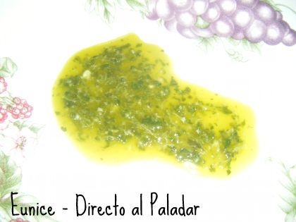Cocina Canaria: Mojo verde de cilantro. Receta