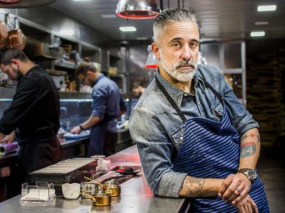 La prensa se ceba con Sergi Arola, su barba y sus parejas, pero su problema es Hacienda