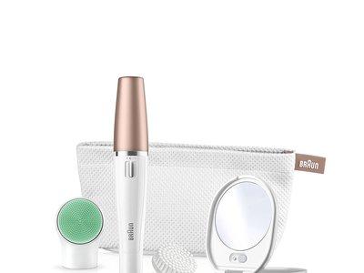Oferta Flash en el sistema 3 en 1 de limpieza y depilación facial Braun FaceSpa 851V: hasta medianoche cuesta 52,90 euros